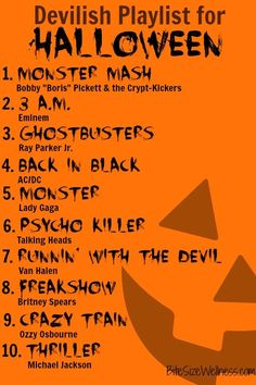 Halloween Playlist: Devilish Playlist for Halloween Sac Halloween, Hallowen Costume, Halloween Snacks, Halloween Birthday, Holidays Halloween, Happy Halloween, Vintage Halloween, Halloween Pumpkins, Halloween Playlist