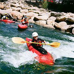 Yampa River kayaking