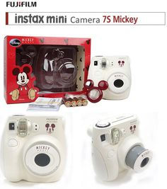 Fujifilm Instax Mini S7 Mickey Mouse instant camera