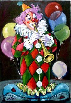 clowns.quenalbertini: Circus clown