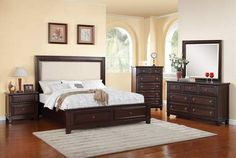 Harwich Storage Bedroom Set   Katy Furniture