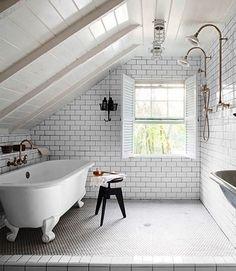 Practical Attic Bathroom Design
