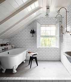 Practical Attic Bathroom Design