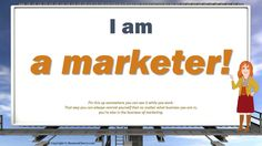 All businesses are marketers...I can help you make it easier. http://Done4UMedia.com
