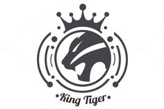 King Tiger Logo by tkent on @creativemarket