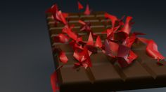 first design upload of 2015. part of my 30 day animation challenge. 1 30 second  animation a day for 30 days. titled RedChoc