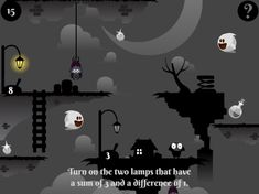 """Practice sums and differences in our new spooky math game, Light the Lamps. Students can also chose to find """"How much more?"""" in this Halloween-themed game. Find The Differences Games, Educational Games For Kids, Math Concepts, Math Games, Halloween Themes, Lamps, Students, Play, Learning"""