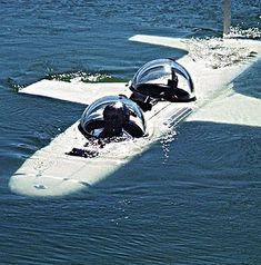 Hawkes Ocean Technologies Super Falcon submersible for Eclipse megayacht (Roman Abramovitch)