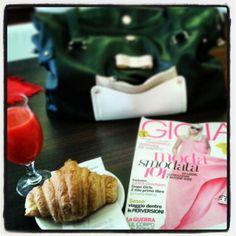 Friday breakfast with Gioia!