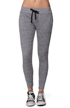 Hooked on Marled French Terry Jogger Pants that I found on the PacSun App