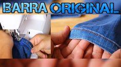 Ganhe Dinheiro Com Consertos:  BARRA JEANS ORIGINAL- How to hem your Jeans
