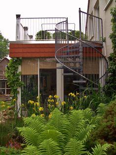 Wintergarten / Balkon / Wendeltreppe