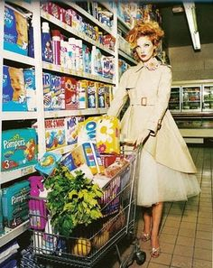 """Sweet Time"": Ilona Kuodiene by Ellen von Unwerth for Vogue Italia Beauty Supplement"