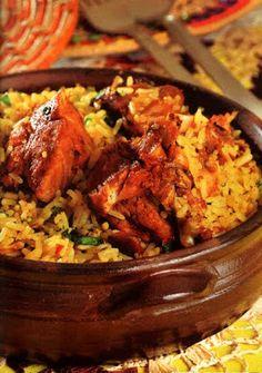 Flavors of Brazil: RECIPE - Guinea-fowl with Rice (Capote com Arroz)