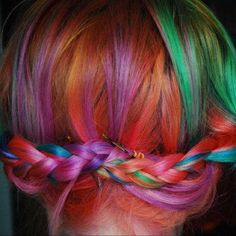People Who Have Successfully Pulled Off Rainbow Hair | The 36 Kinds Of People On Instagram Who Will Make You Jealous