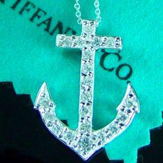 Tiffany anchor! Push present??!! Love love this!!! Love anchors!