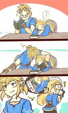 The Legend of Zelda   Breath of the Wild comic