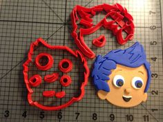 Bubble Guppies Gil Cookie Cutter Set