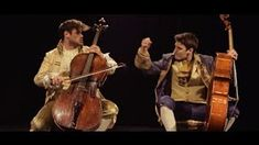 2cellos thunderstruck - YouTube. I like different kinds of music for their differences. Good crossovers require a respect for those differences before pushing the envelope. And these guys nail it. I'm also glad that these are actual cellos, not the electronic kind.