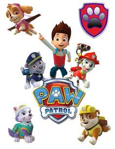 50 Paw Patrol Clipart  printable Digital by OctopusDigitalStore:
