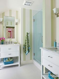 Find design inspiration in 15 walk-in showers that beautifully stretch a small bathroom's footprint, increase its functionality, and amplify its good looks.