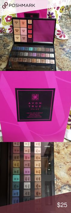 "Avon True Color Makeup Palette Avon True Color ""For The Love Of MakeUp"" Artist Palette (Brand New In Box) Avon True Color Other"
