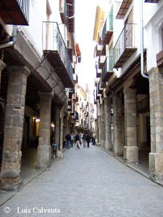 Morella en Castellón (Spain)