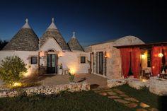 The Enchanted Lands. Trulli. Apulia. Alberobello.