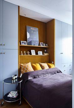 #mieszkanie #projektmieszkania #projektdomu #bbhome #bbhomedesign #meblenazamowienie #meble #sofa #kolory #sypialnia #lozkozzaglowkiem #lozko