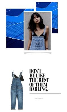 """""""- 0 0 7 -"""" by hey-anna ❤ liked on Polyvore featuring Alexander Wang, Current/Elliott, denim, AlexanderWang and tomboy"""