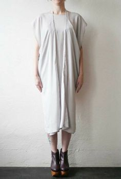 Strap Dress Light Silver