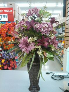 Tall floral designs for foyers