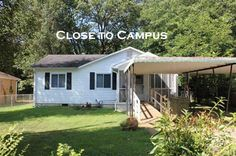 Well maintained home close to Clemson's campus with a fenced yard and a wheelchair ramp.