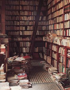everywhere its so neat and then theres this one room with book chaos!!!
