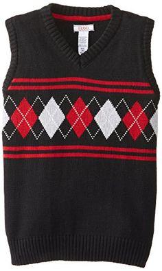 Izod Big Boys' 8-20 Holiday Argyle Sweater Vest, Deep Black, Large IZOD http://www.amazon.com/dp/B00N4VSC6G/ref=cm_sw_r_pi_dp_LJlFub14MX05S