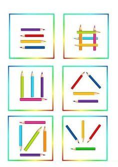 Повтори по образцу | OK.RU Motor Skills Activities, Preschool Learning Activities, Preschool Printables, Kindergarten Activities, House Drawing For Kids, Visual Perception Activities, Coding For Kids, School Posters, Art N Craft