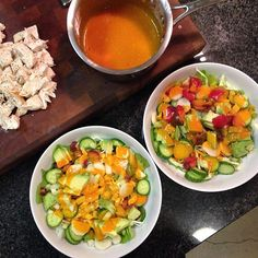 Buffalo Chicken Salad going down for dinner tonight. We changed the #veggies up a little based on what was #organic and available right now. Yum! The Buffalo Sauce is #homemade #glutenfree and #caseinfree using @franksredhot and ghee #recipe #ontheblog http://theweeklymenubook.com/2015/02/13/buffalo-chicken-salad-glutenfree-caseinfree/