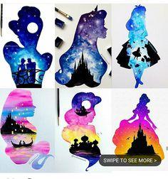 Tattoo Inspiration Tattoo Inspiration - New Ideas Cute Disney Drawings, Disney Princess Drawings, Disney Princess Art, Cute Drawings, Disney Princess Paintings, Punk Princess, Disney Pinterest, Disney Canvas Art, Disney Paintings