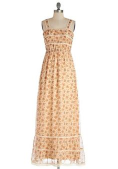 this dress makes me think of my childhood! Prairie Afternoon Dress, #ModCloth