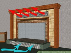 Image titled Make a Fireplace More Energy Efficient Step 3