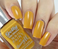 Barry M - Gelly Hi Shine - Mustard 31