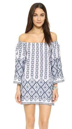 Miguelina Brinley Beach Dress