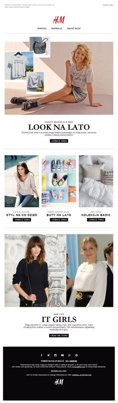 h&m email design - Google Search