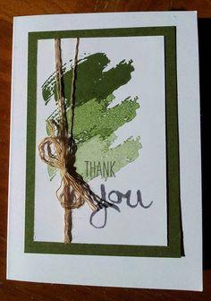 Moss Meadow - Easy Peasy Work of Art Card
