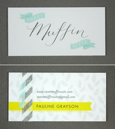 Sweet Muffin Suite / Pauline Grayson  www.sweetmuffinsuite.com {Sweet washi tape detail}