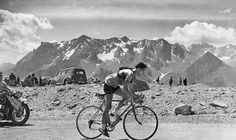 Federico Bahamontes 1954 Tour de France. Winner of the Koms classification!
