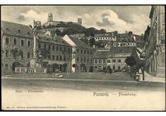 Bratislava, Old Street, Old City, Time Travel, Arch, Castle, Louvre, Times, Building