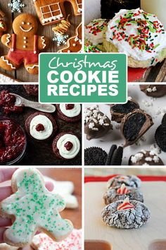 Here's a list of easy Christmas cookie recipes you will love. From peppermint, to gingerbread and everything in between it will keep you busy this Dec.
