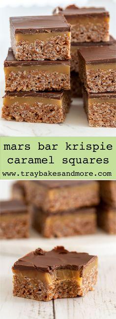 Tray Bake Recipes, Baking Recipes, Cookie Recipes, Dessert Recipes, No Bake Treats, Yummy Treats, Sweet Treats, Sweet Desserts, Sweet Recipes