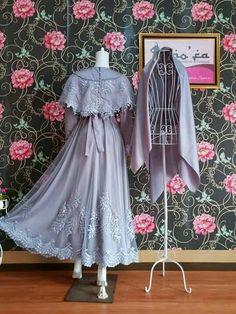 For Graduation 🎓 Kebaya Hijab, Kebaya Dress, Dress Pesta, Dress Anak, Hijab Dress Party, Hijab Style Dress, Casual Dress Outfits, Dress Brokat Muslim, Muslim Dress